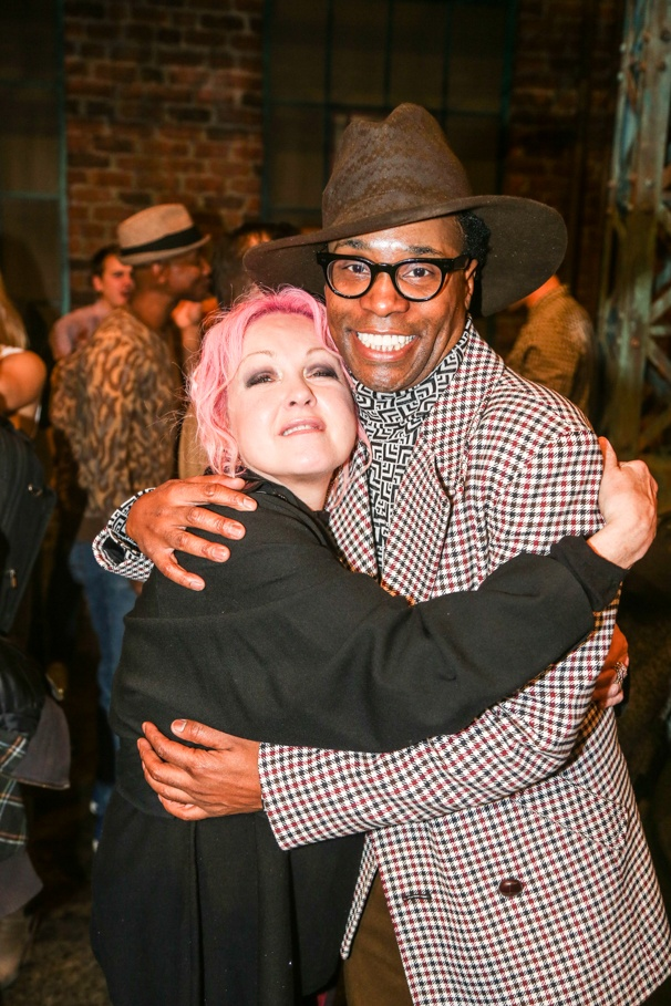 Kinky Boots - Billy Porter - Final Show - 11/15 -  Cyndi Lauper and Billy Porter