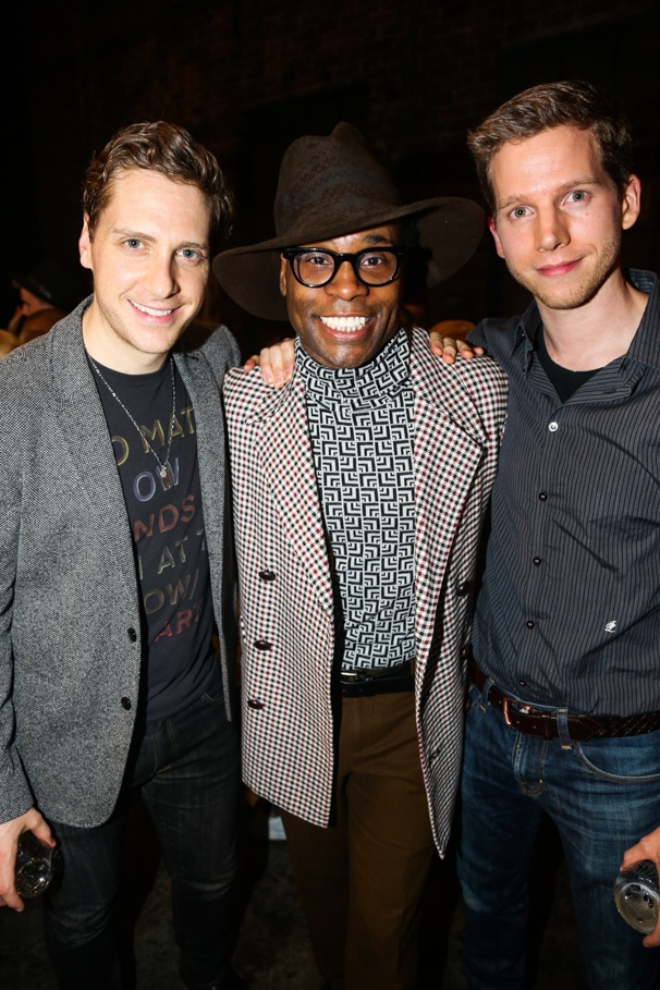 Kinky Boots - Billy Porter - Final Show - 11/15 -  Andy Kelso - Billy Porter- Stark Sands