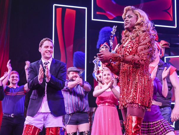 Kinky Boots - Wayne Brady - First Performance - 12/15 - Andy Kelso and Wayne Brady