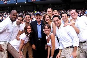 Jersey Boys at Yankee Stadium - Cast - Rudy Guiliani