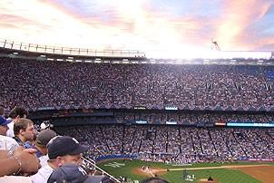 Jersey Boys at Yankee Stadium - Field