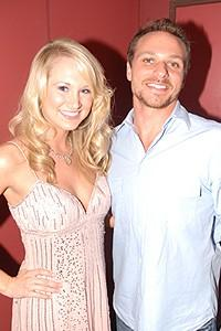 Broadway.com Group Sales Luncheon - Bailey Hanks - Drew Lachey