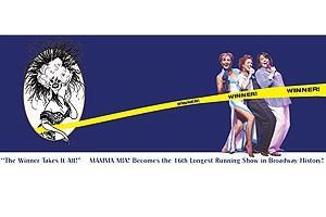 Mamma Mia Surpases Hello Dolly - poster