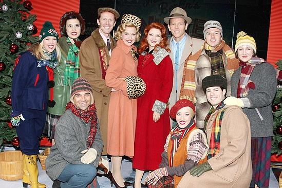 white christmas tree trimming cast - Cast Of White Christmas
