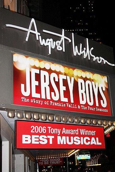 Jersey Boys 3rd Year Celebration – August Wilson Theatre