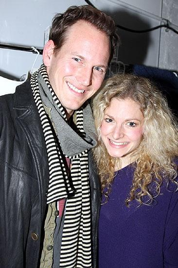 Wilson and Maguire at Rock of Ages – Patrick Wilson – Lauren Molina