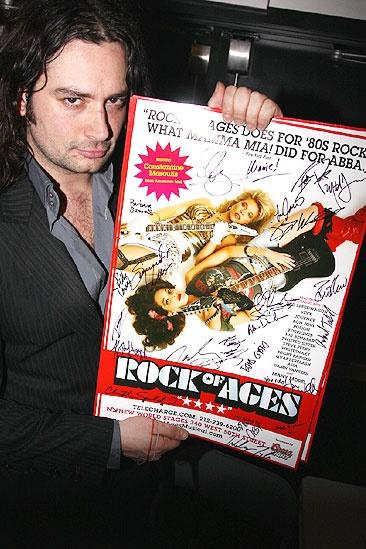 Wilson and Maguire at Rock of Ages – Constantine Maroulis