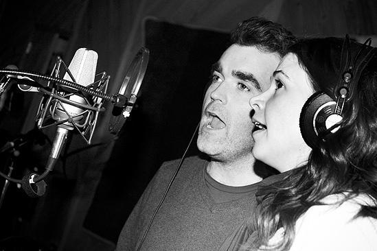 Shrek in the Studio – Sutton Foster – Brian D'Arcy James