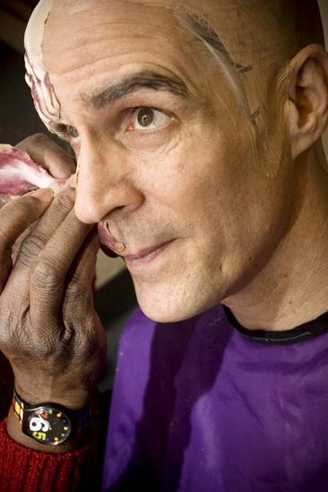 Howard McGillin Phantom transformation – piece on face