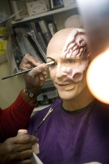 Howard McGillin Phantom transformation – eyebrows2