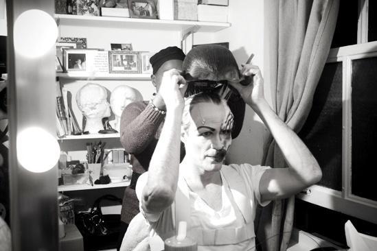 Howard McGillin Phantom transformation – wig