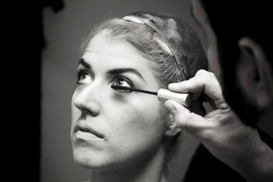 Nicole Parker Backstage at Wicked – mascara2