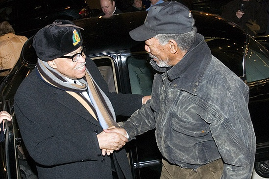 Morgan Freeman at Driving Miss Daisy – James Earl Jones – Morgan Freeman