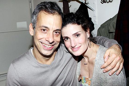 Patti LuPone and Idina Menzel at <i>The Normal Heart</i> - Joe Mantello – Idina Menzel