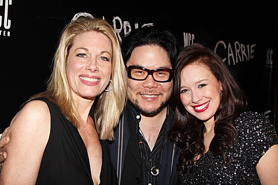 Carrie -  Molly Ranson, Stafford Arima, and Marin Mazzie