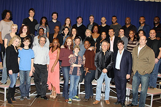 Leap of Faith Meet and Greet – The cast, crew and creative team of Leap of Faith