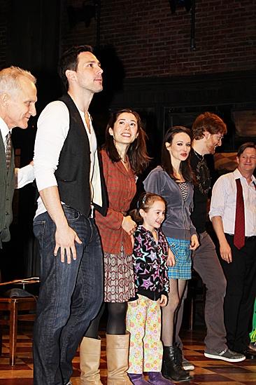 Once opening night – David Patrick Kelly – Steve Kazee – Cristin Milioti – Ripley Sobo – Elizabeth A. Davis
