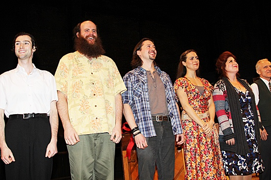 Once opening night – Will Connolly – Paul Whitty – J. Michael Zygo – Erikka Walsh – Anne L. Nathan – David Patrick Kelly