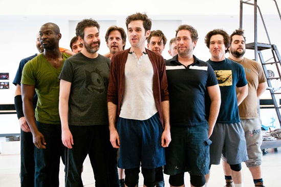 Peter and the Starcatcher Rehearsal – Adam Chanler-Berat – The Company