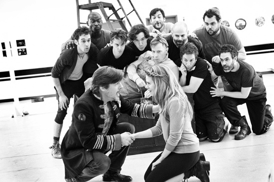 Peter and the Starcatcher Rehearsal – Rick Holmes – Celia Keenan-Bolger – The Company