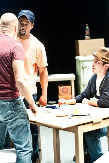 Streetcar Named Desire rehearsal – Jacino Taras Riddick – Blair Underwood – Matthew Saldivar