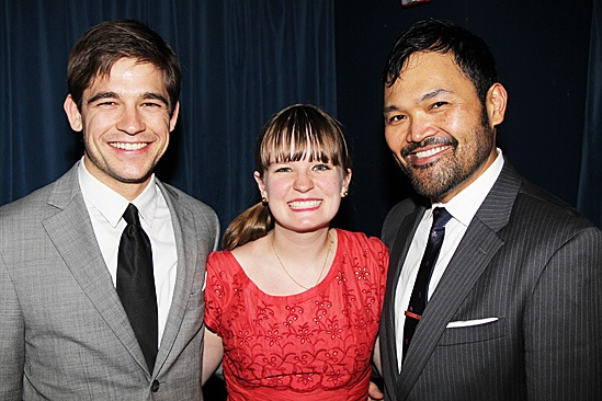 Peter and the Starcatcher Opening Night – Jason Ralph – Betsy Hogg – Orville Mendoza