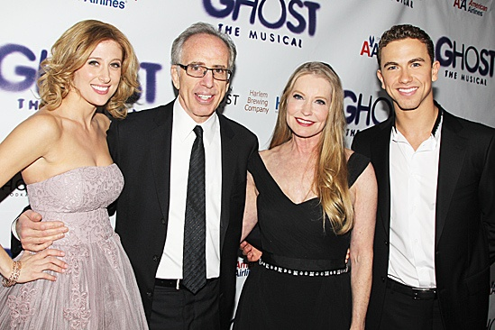 Ghost Opening Night – Caissie Levy – Jerry Zucker – Lisa Niemi – Richard Fleeshman