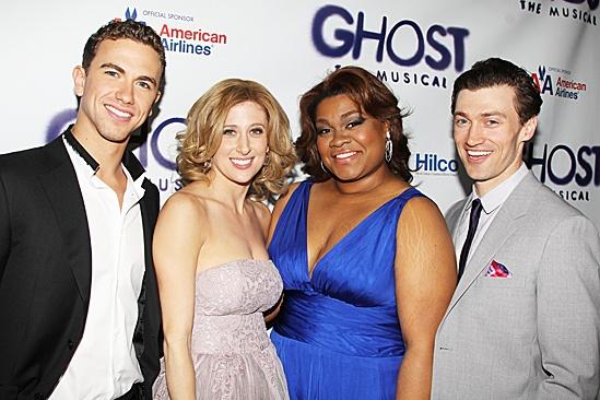 Ghost Opening Night – Richard Fleeshman – Caissie Levy – Da'Vine Joy Randolph – Bryce Pinkham