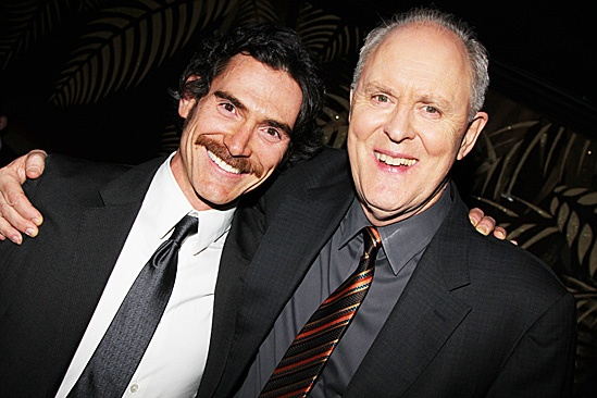 The Columnist Opening Night – Billy Crudup – John Lithgow