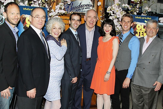 Old Jews Opening Night – Sam Hoffman – Todd Susman – Marilyn Sokol – Marc Bruni – Lenny Wolpe – Audrey Lynn Weston – Bill Army – Daniel Okrent