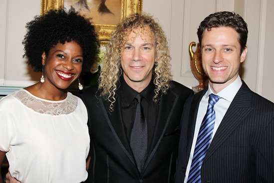 David Bryan Grand Piano to State Department – Dan'yelle Williamson - David Bryan - Kevin Massey