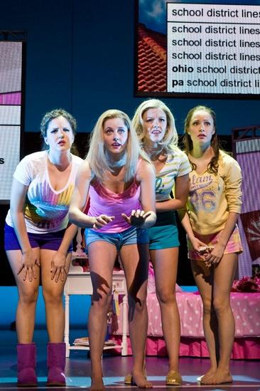 Show Photos - Bring It On: The Musical - Janet  Krupin - Tayor Louderman - Kate Rockwell - Elle McLemore
