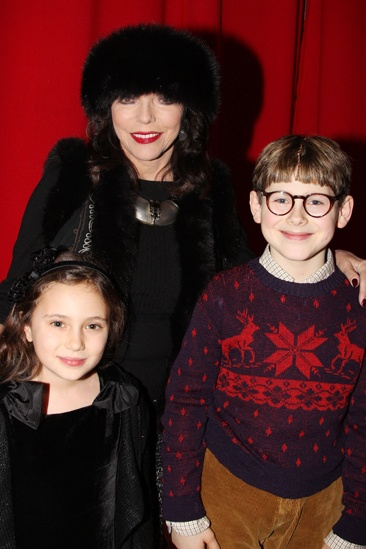 Joan Collins at 'A Christmas Story' — Joan Collins — Johnny Rabe