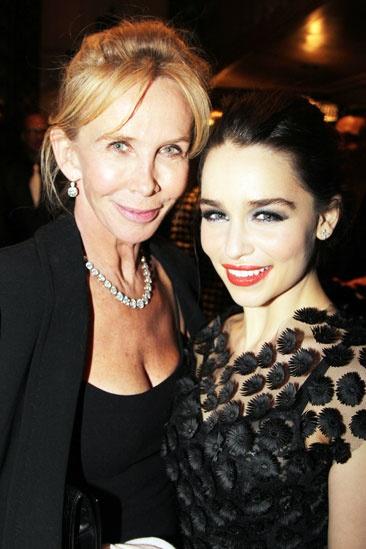 'Breakfast at Tiffany's' Opening — Trudie Styler — Emilia Clarke