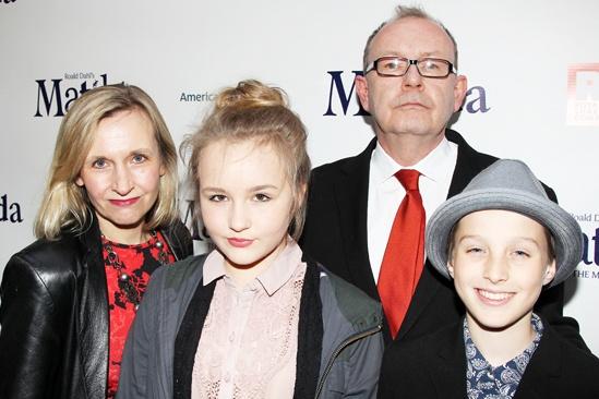 Matilda – Opening Night – Sir Michael Boyd – Family