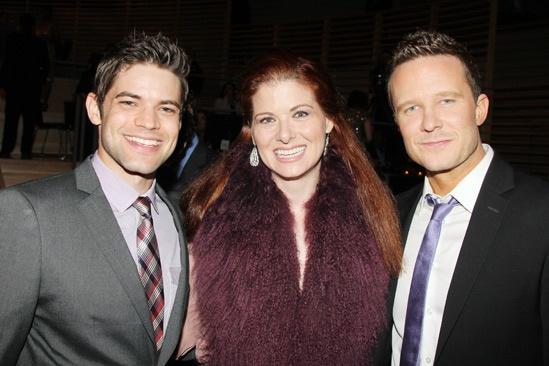 2013 Audience Choice Awards- Jeremy Jordan- Debra Messing- Will Chase