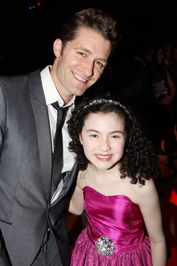 2013 Audience Choice Awards- Matthew Morrison- Lilla Crawford