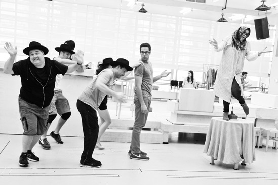 'First Date' Rehearsal — Sara Chase