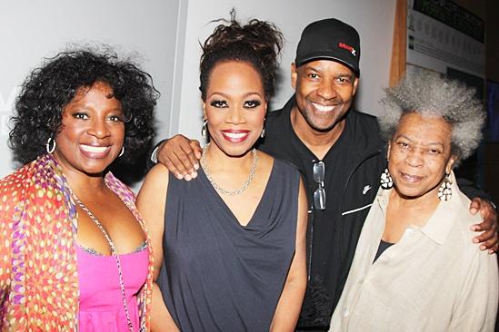 stop. reset. – opening night – LaTanya Richardson Jackson – Regina Taylor – Denzel Washington – Novella Nelson