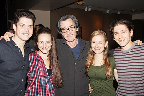 Roundabout Fall Kick-Off — Philip Ettinger — Tracee Chimo — Roger Rees — Molly Ranson — Michael Zegen