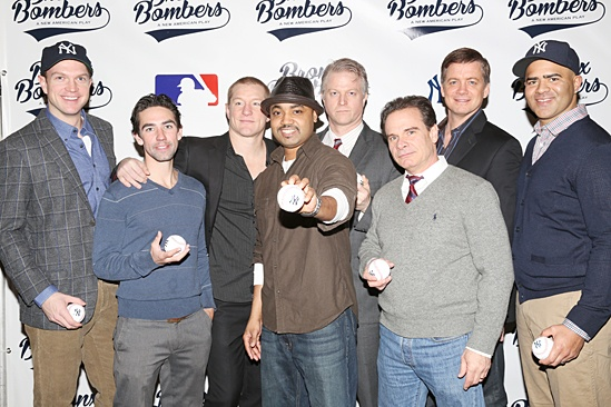 Bronx Bombers Meet the Press- John Wernke - Keith Nobbs - Bill Dawes - Francois Battiste - C.J. Wilson - Peter Scolari - Chris Henry Coffey - Christopher Jackson