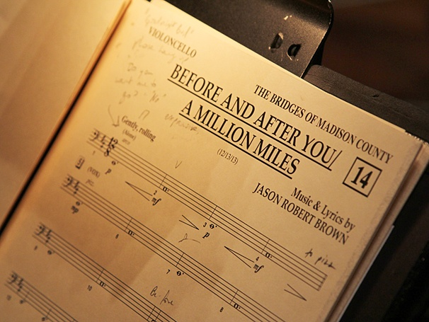 The Bridges of Madison County - Cast Recording - OP - 3/14 - music
