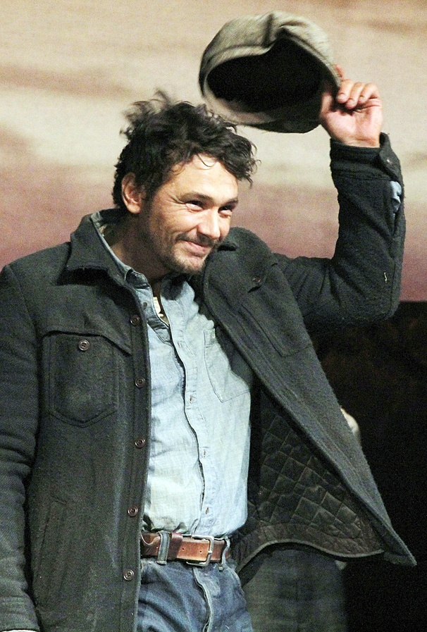 Of Mice and Men - Preview Curtain Call - OP - 3/14 - James Franco