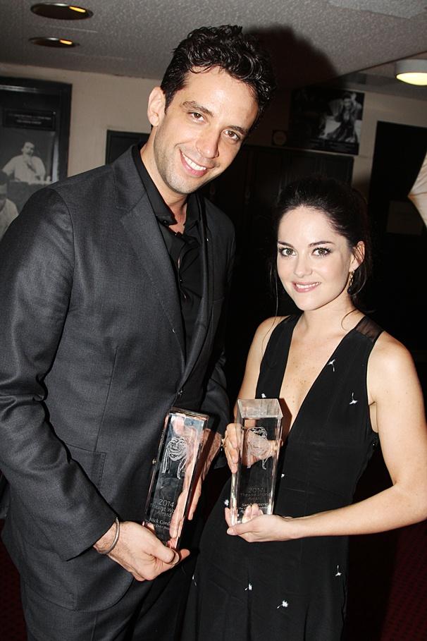 Theatre World Awards - OP - 6/14 - Nick Cordero - Sarah Greene