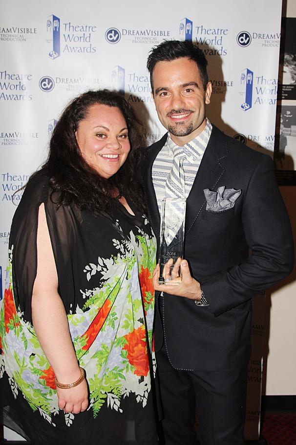 Theatre World Awards - OP - 6/14 - Keala Settle - Ramin Karimloo