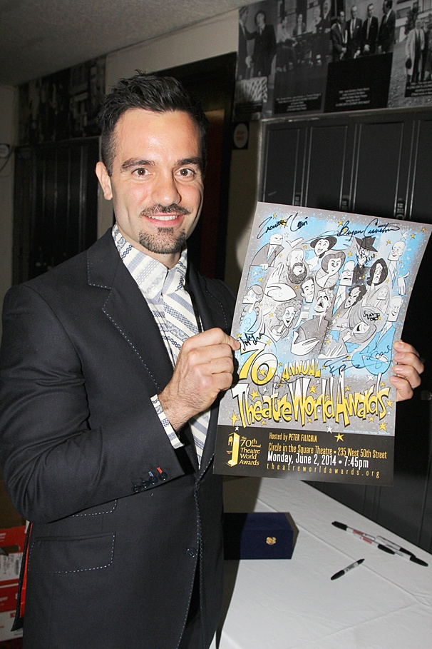 Theatre World Awards - OP - 6/14 - Ramin Karimloo