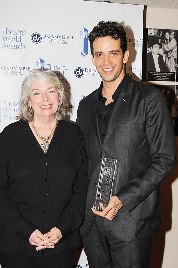Theatre World Awards - OP - 6/14 - Jill O'Hara - Nick Cordero