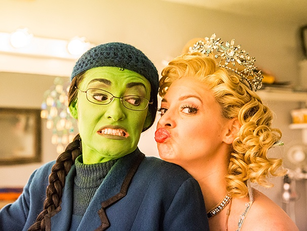 Wicked - Backstage - 8/14 - Christine Dwyer - Jenni Barber