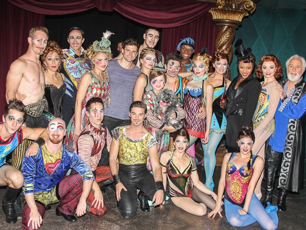 Pippin - Tour - Backstage - 11/14 - Cast