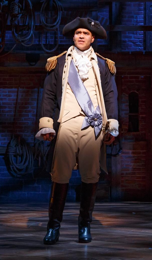 Hamilton - Show Photos - 1/15 - Lin-Manuel MirandaChristopher Jackson